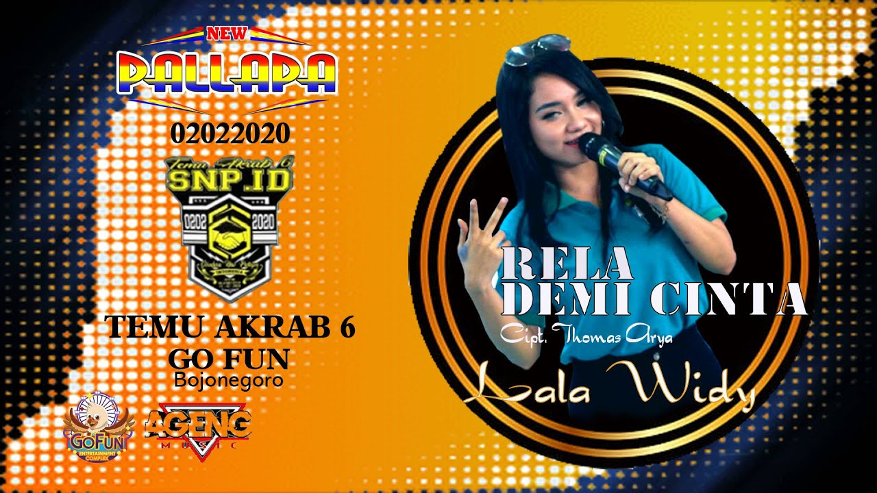 Lala Widi - Rela Demi Cinta (New Pallapa) Mp3